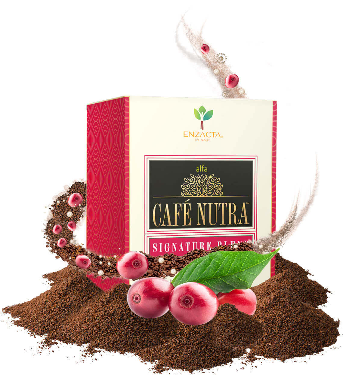 alfa CAFE NUTRA Signature Blend - Box ingredients