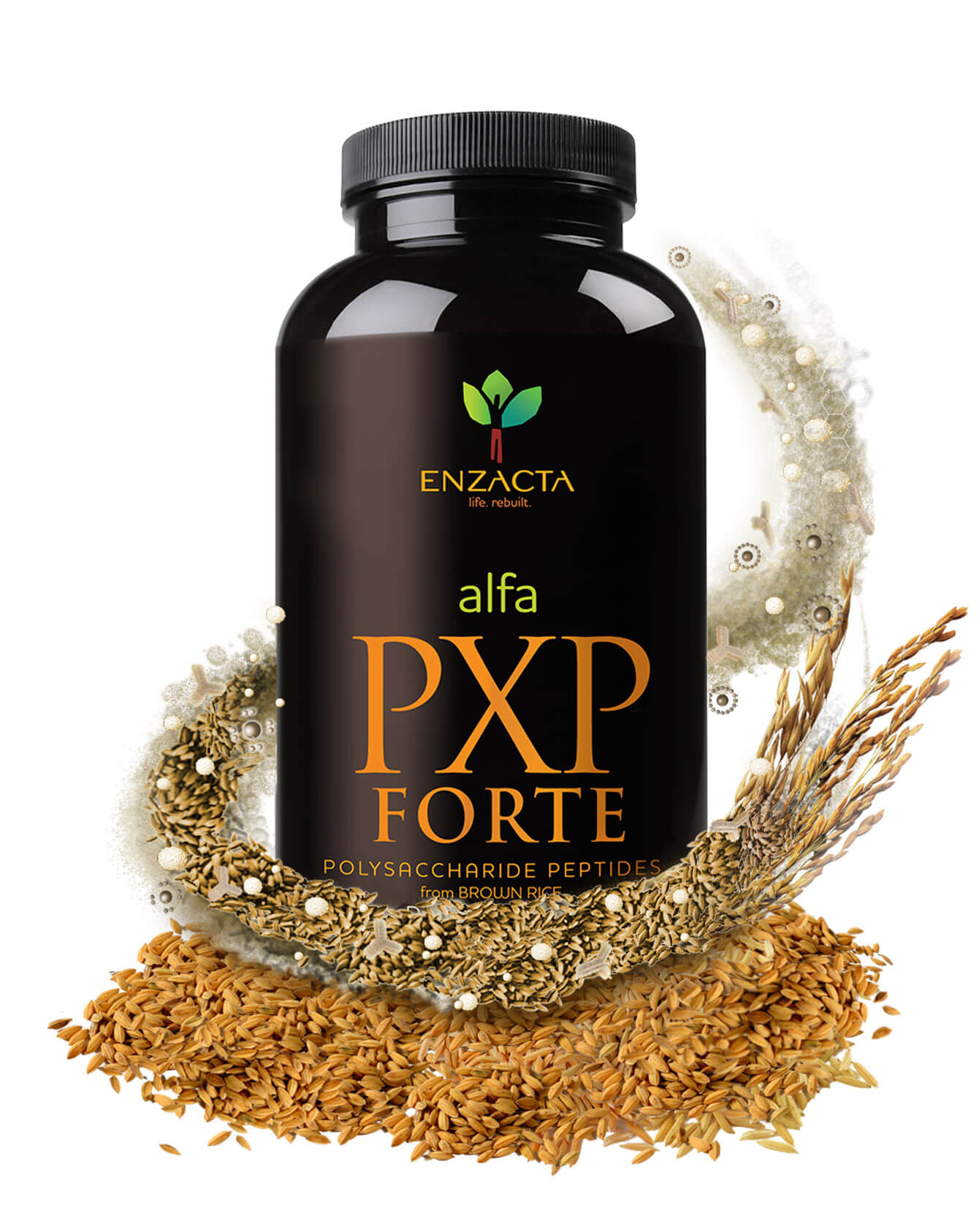 alfa PXP FORTE - Bottle ingredients