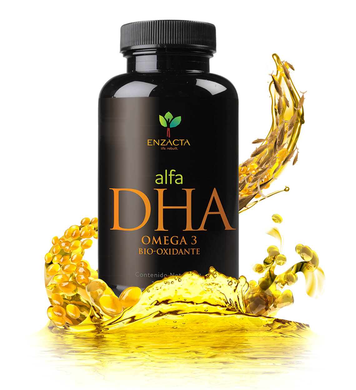 alfa DHA  - Bottle ingredients