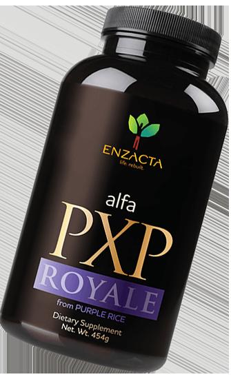 alfa PXP FORTE bottle.