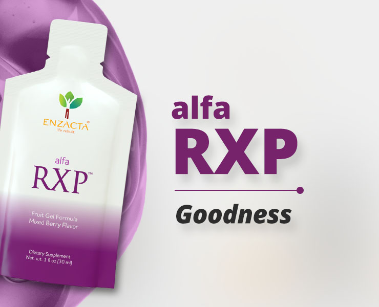 alfa RXP: Concentrated Goodness